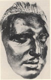 Mozart's death mask